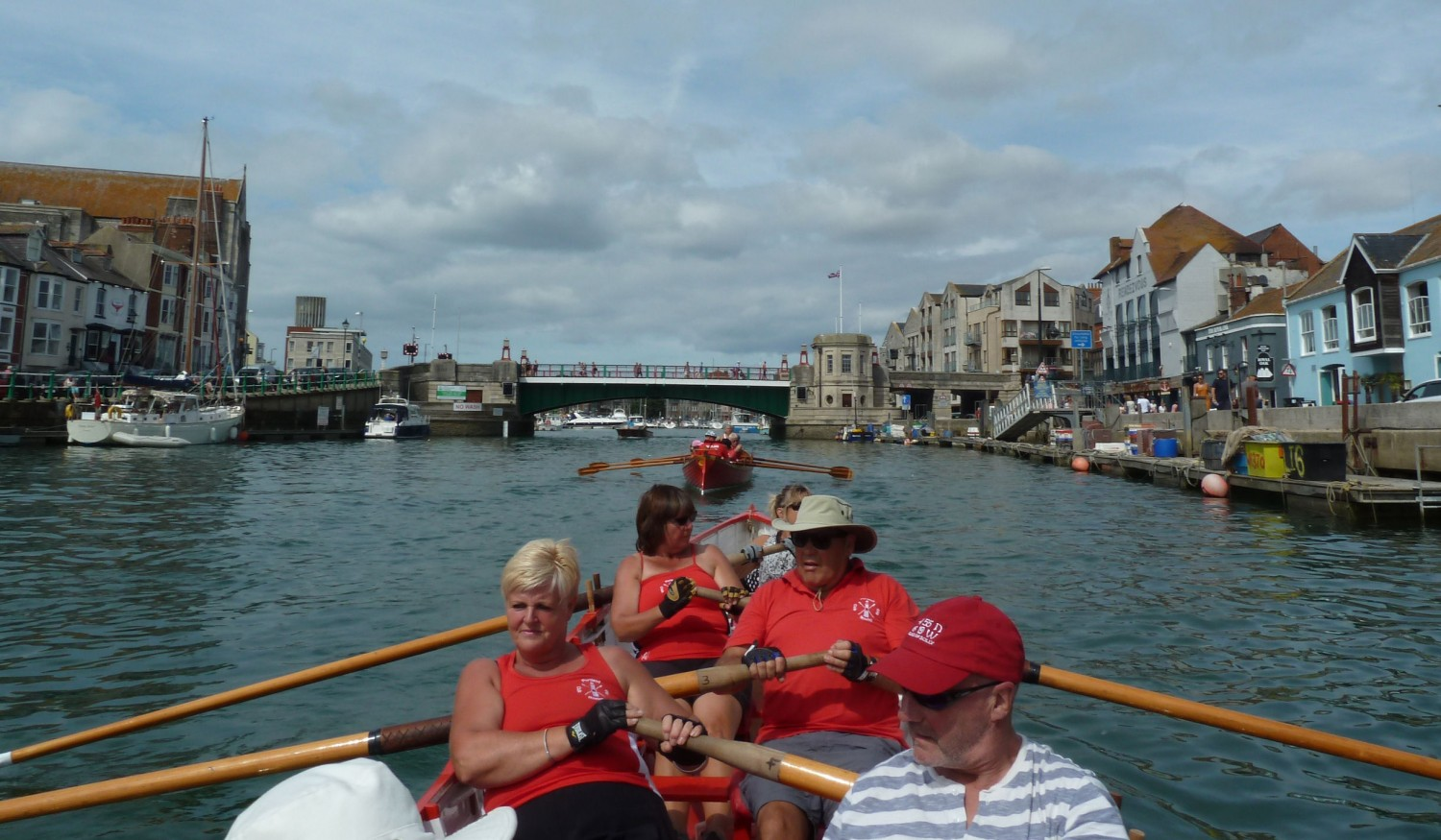 Row To Weymouth